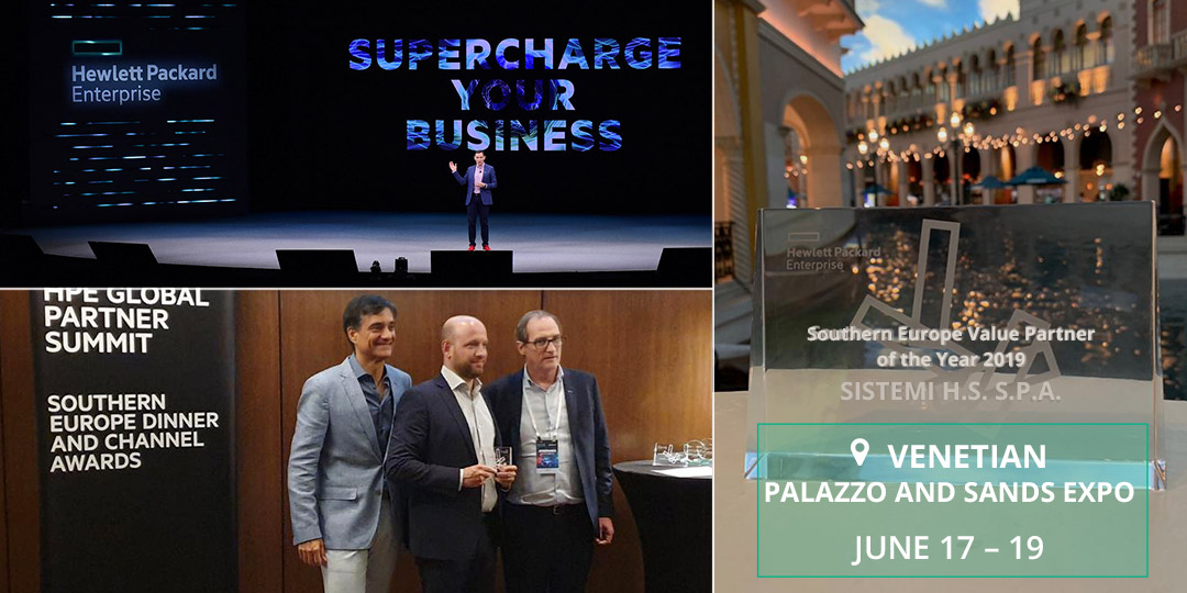 Sistemi HS è Southern Europe Value Partner of the year 2019