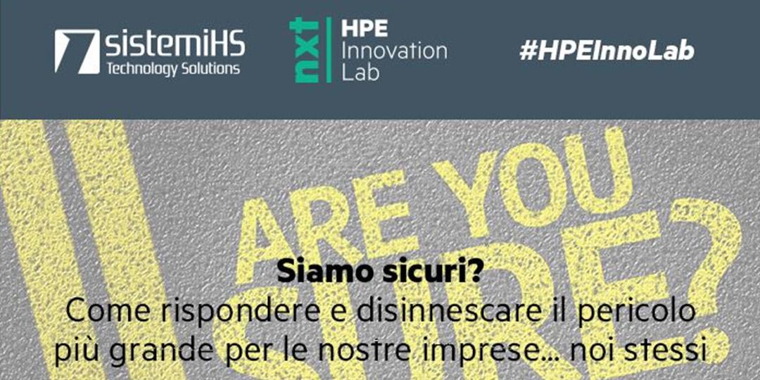 Sistemi HS e HPE: Webinar sulla sicurezza dei dati